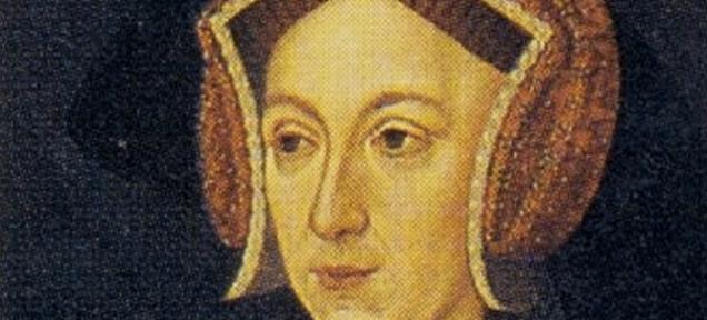 画像: 16世紀に処刑された王妃イングランド王ヘンリー8世の2番目の妻、アン・ブーリン。消された彼女の肖像が顔認識ソフトで新たに発見か!?
