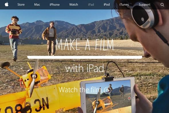 画像: Apple、アカデミー賞授賞式に合わせて「iPad Air 2」で撮影した「iPad Air 2」のCMを公開!