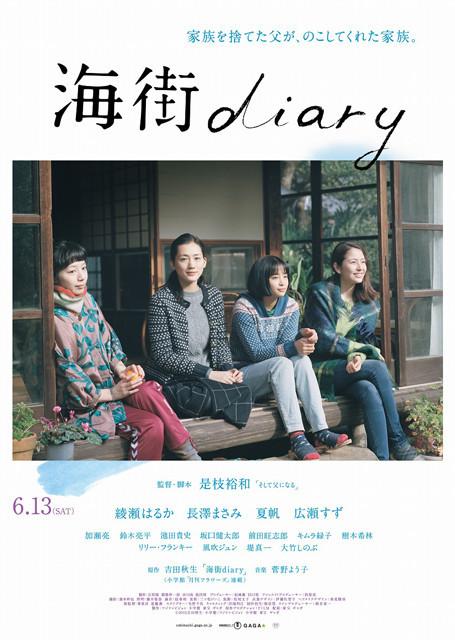 画像: 是枝裕和監督作「海街diary」心の琴線に触れる珠玉の予告が完成!