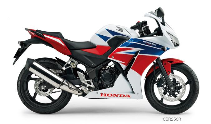 画像: HONDA CBR250R : 新車価格 49万8960円 249cc水冷単気筒。最高出力29馬力。車重161kg