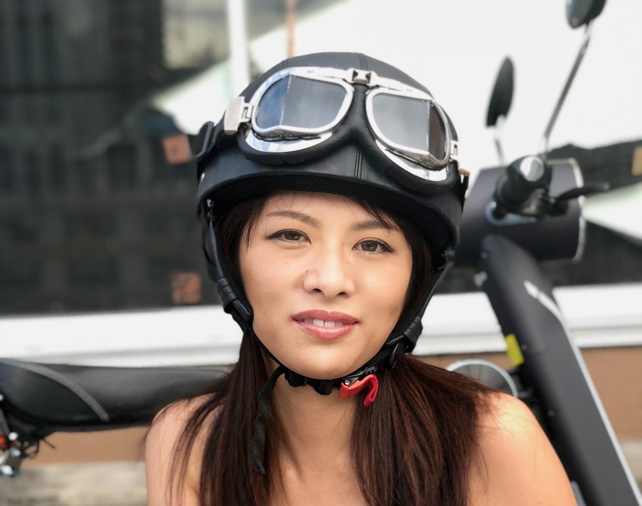x-girl ヘルメット