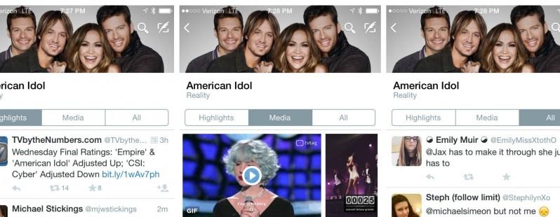 画像: Twitter、新機能「TVタイムライン」をテスト中