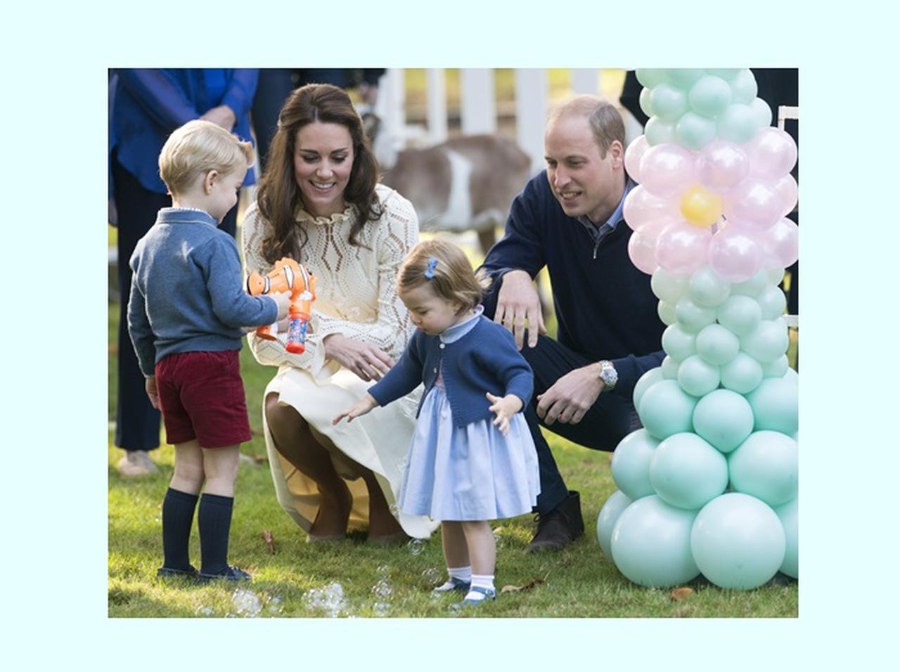 ウィリアム王子 子供