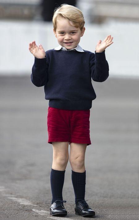 ジョージ王子 Prince George イギリス 2016年 総まとめ 総集編 一年を振り返る 総復習 ロイヤルファミリー イギリス王室 カナダ 空港 機嫌いい キュート