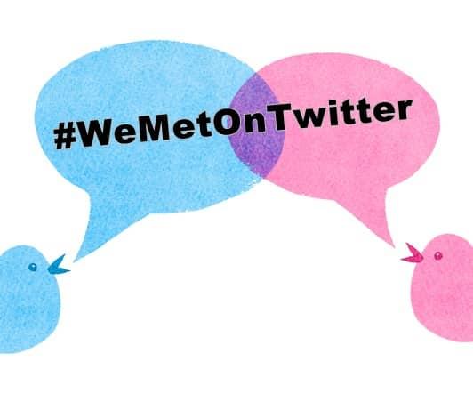 We Met On Twitter Hashtag Trending 私たちはツイッターで出会った