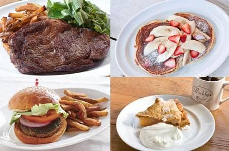バビーズ カフェ レストラン NY  Bubby's  Cafe Restaurant