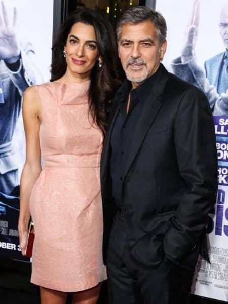 ジョージ・クルーニー 妊娠 アマル・クルーニー George Clooney Amal Clooney