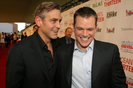 マット・デイモン Matt Damon ジョージ・クルーニー George Clooney 親友