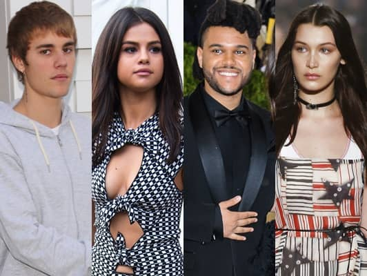 ジャスティン・ビーバー セレーナ・ゴメス ザ・ウィークエンド ベラ・ハディッド 交際 元恋人 Justin Bieber Selena Gomez The Weeknd Bella Hadid Relationship Exes Boyfriend Girlfriend