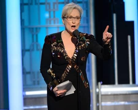 メリル・ストリープ ゴールデングローブ ドナルド・トランプ大統領 批判 Meryl Streep Golden Globes Speech Donald Trump