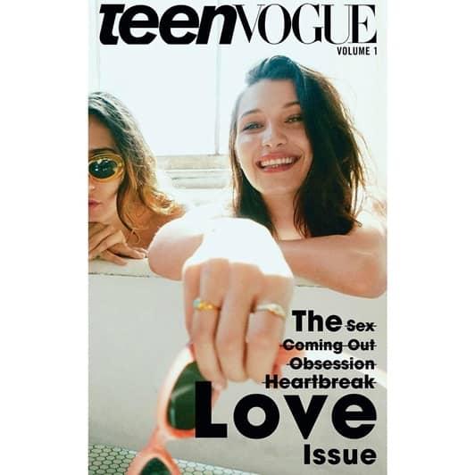 ベラ・ハディッド Teen Vogue Bella Hadid