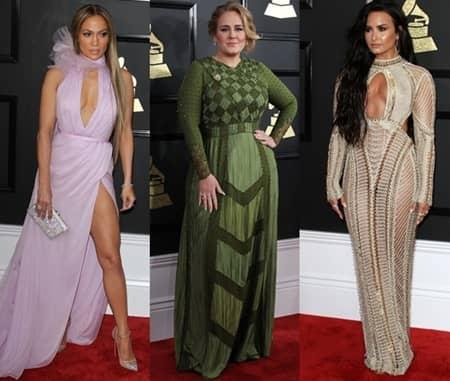 第59回 グラミー賞 Grammy Awards 2017年 レッドカーペット 着用ドレス ブランド