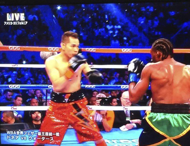 画像1: フィリピンの閃光vsカリブの斧男|ドネアvsウォーターズ ボクシング世界戦