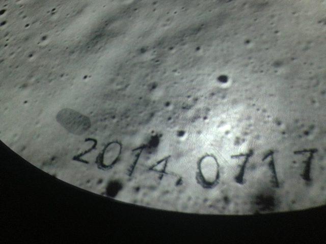 画像: 月にきました。