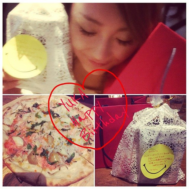 画像: #4ヶ月遅れの#誕生日プレゼント#渡せた#ピザ美味しいけど残してしまた instagram.com