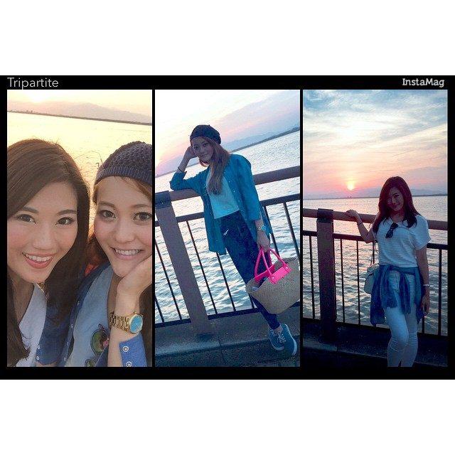 画像: #Our fashion is similar.#なんかファッション似てた instagram.com
