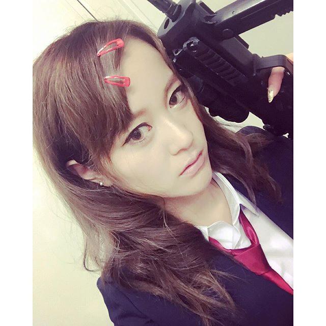 画像: #DMM#TGS#シューティングガール#がんむす #私が守ってあげる instagram.com
