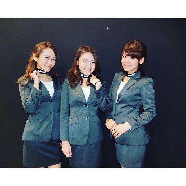 画像: #odelic#郡山#終了#久々スーツ#けどミニ instagram.com