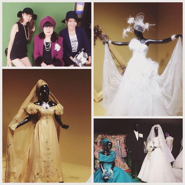 画像: ユミカツラ ブライダル50周年記念展♡ SHINING FOREVER  #YUMIKATSURA #50thAnniversary #since1964 #BraidalDress #Wedding #Dress #hautecouture #b ... instagram.com
