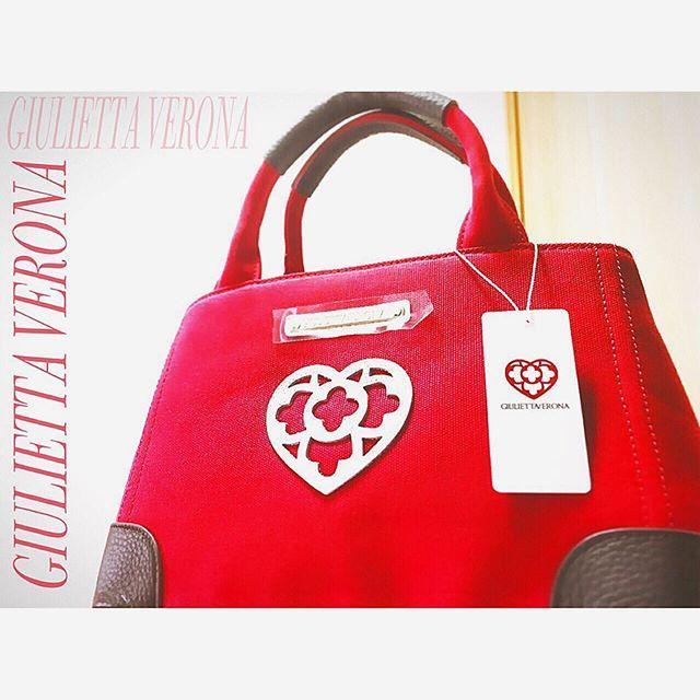 画像: GIULIETTA VERONAさんから バッグが届いた〜!!!! カワイイ❤️❤️ ありがとうございます!! http://www.giuliettaverona.jp  #giuliettaverona #bag #fashion #italy ... www.instagram.com