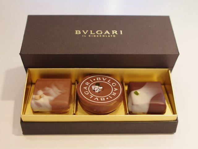 画像: 名実ともにチョコレートの宝石「BVLGARI」