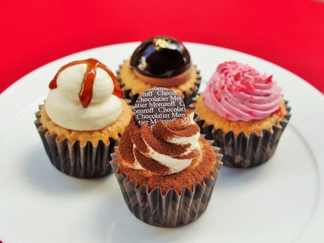 画像: 渋谷らしく「kawaii」をテーマにしたカップケーキ