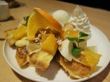 画像: 爽やかな柑橘の香りがお皿いっぱいフレンチトースト!!