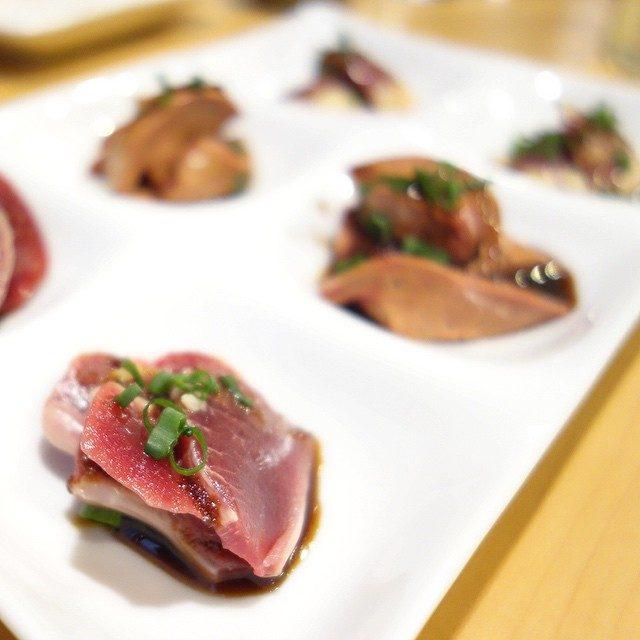 画像: 淡海地鶏の ハツ、白レバ、砂肝! やはり鳥長は凄い〜 instagram.com