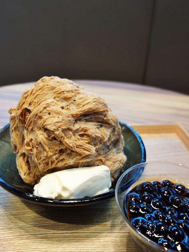 画像: タピオカミルクティーかき氷(珍珠奶茶綿花甜)