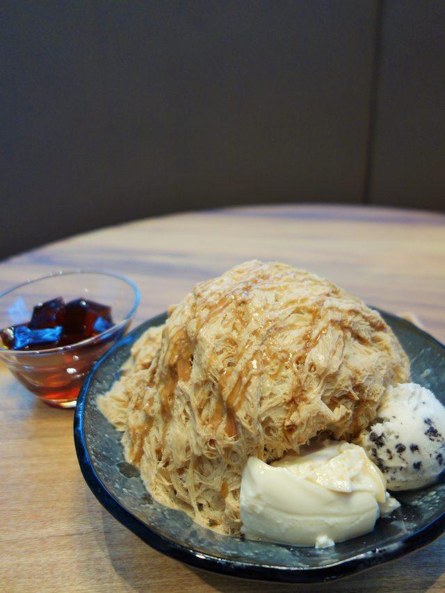 画像: コーヒーかき氷(咖啡綿花甜)