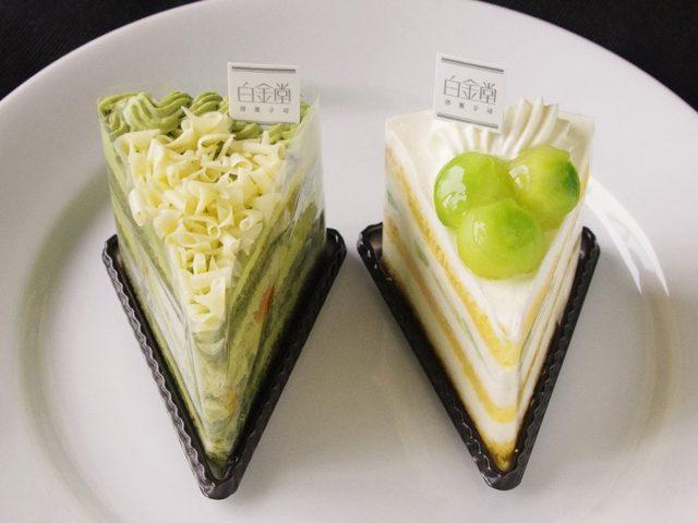 画像: 白金堂 洋菓子司/抹茶ショートケーキ