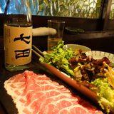画像: 無薬飼育豚のしゃぶしゃぶと、米焼酎 七田のソーダ割りがたまらん! 磐鹿六雁命(イワカムツカリノミコト)とは日本書紀にある日本料理の祖神、醸造の神。有機無農薬野菜、無薬飼育の牛、豚、鶏肉、無添加の調味料、昔ながらの製法で少量ずつ仕込む酒などを、大正時 ... instagram.com