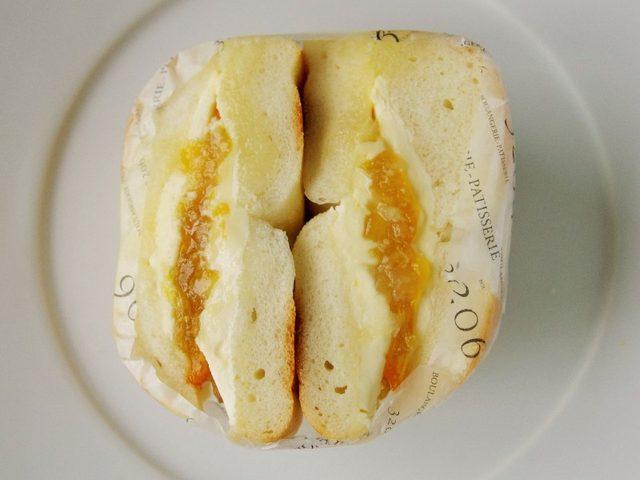 画像: 冷やしておいしい、クリームチーズと柑橘が爽やかなもちもちベーグルサンド