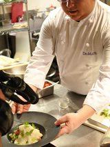 画像: スイーツ番長×ダルマット平井オーナーシェフ×ロッテ クーリッシュ キウイスムージー味の冷製パスタ
