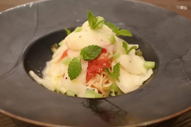 画像: 「クーリッシュ キウイスムージー味」の冷製パスタを食べてみたい!