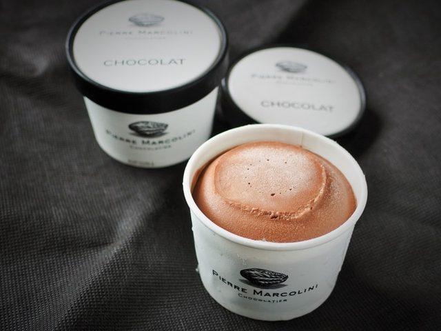 画像: これがビーントゥバーの先駆けのチョコレートアイスクリームだ!