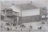 画像: とうよこ沿線編集写真集「わがまちの昔と今」8巻より飯田家の横浜真砂町の出店と氷室