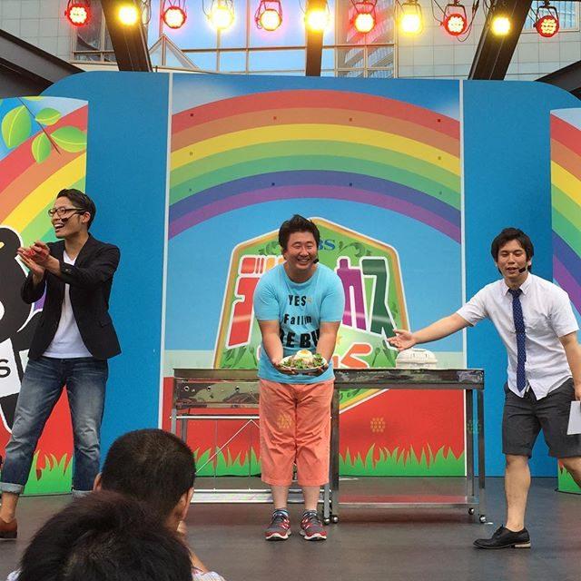 画像: 赤坂TBSデリシャカスが、フォーリンデブによって、デブシャカスに!!(笑) #マルちゃん焼そば40周年 instagram.com