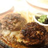 画像: 青山一丁目のシチリア料理と熟成和牛ステーキという難解なレストラン(笑)でしっかり、ダブルハンバーグ340グラムでランチ!! 粗挽きで肉肉しくいただきました〜 #ランチハンバーグ #毎日ハンバーグ instagram.com