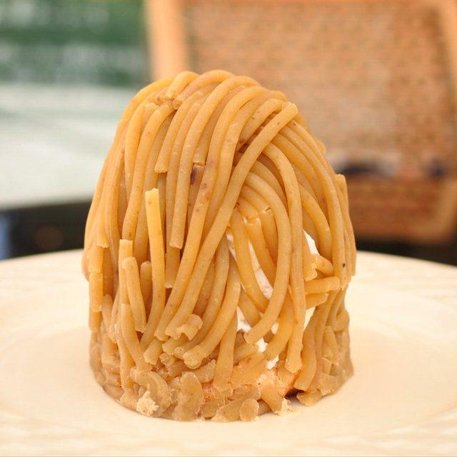 画像: 熊本の農園の栗でオプティマタンのために粗めに漉してつくられるペースト