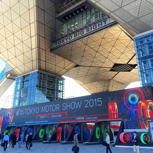 画像: 東京モーターショー2015開幕です! 今日、明日はプレスデー、グルメキングダムの設営にかかります!! instagram.com