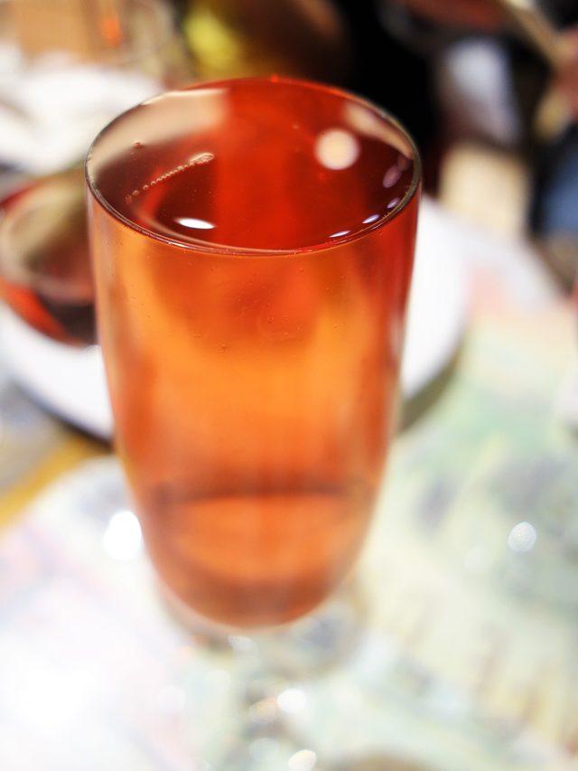 画像: 名物 こぼれスパークリングワイン ロゼ