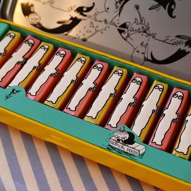 画像: 女性から男性へ 日本のバレンタインセールの元祖「メリー」の2016バレンタイン発表会。ムーミンのコラボシリーズに注目。缶ペンケース入りのニョロニョロがカワイイ(笑)。 日本のバレンタインは日本のチョコレートメーカーにも期待をしないとね!! 今週はバ ... instagram.com