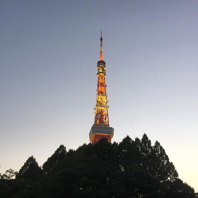 画像: トワイライトタイムの東京タワー。なんか今日のタワー、凄くキレイ。 #tokyotower instagram.com