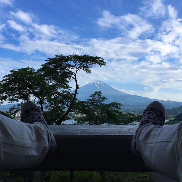 画像: 富士山とグランピングなう! #富士山 #河口湖 #星のや富士 www.instagram.com