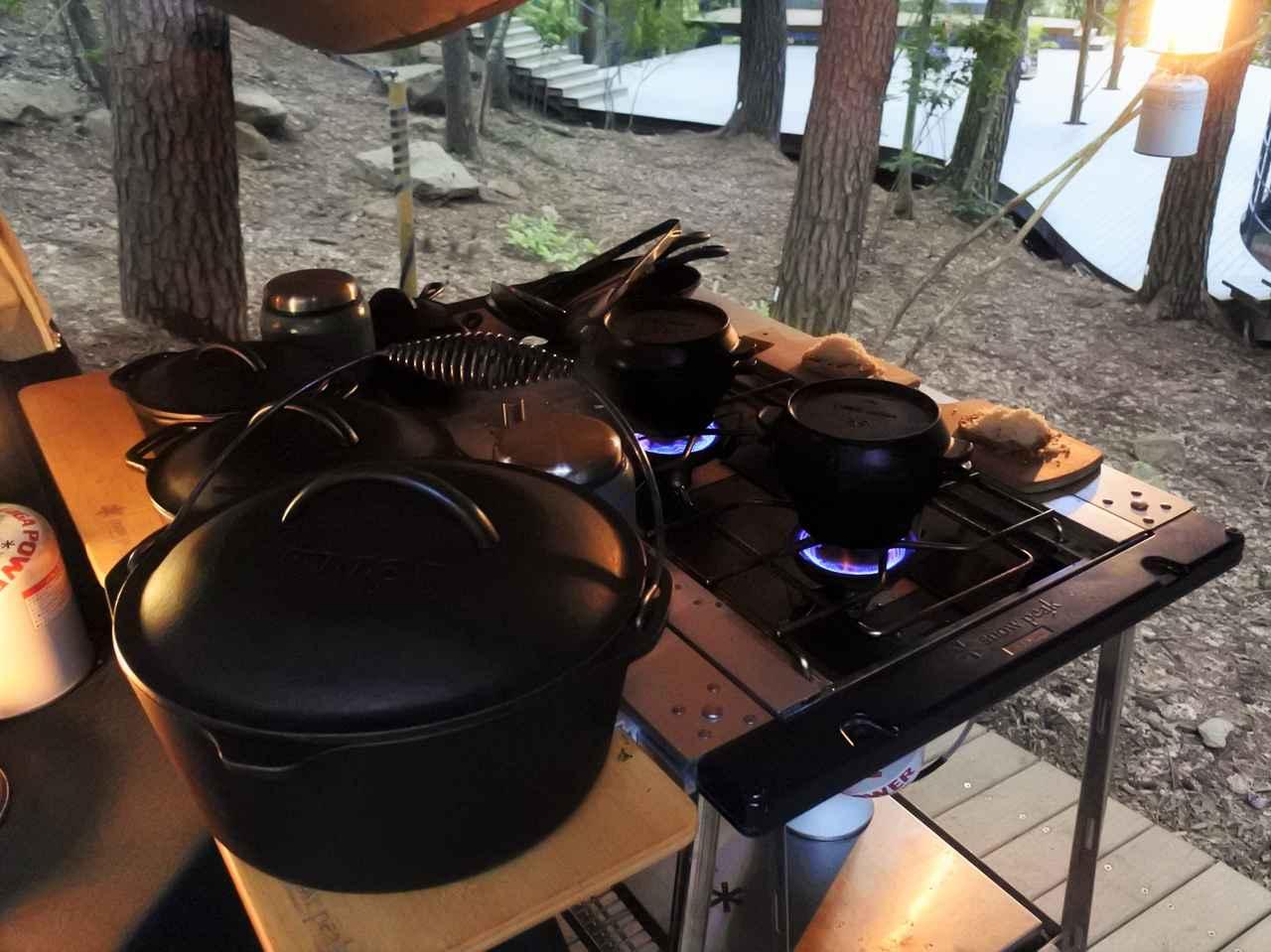 画像2: クラウドテラスでプライベートシェフとともにダッチオーブンに挑戦するクラウドキッチン