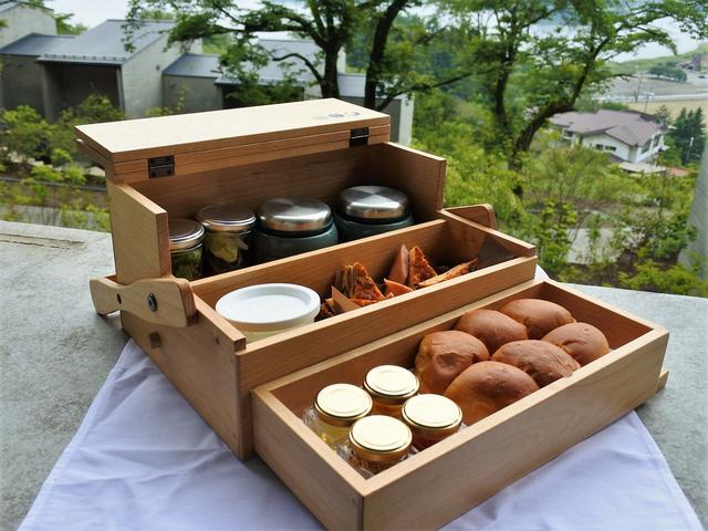 画像: 朝のすがすがしい空気の中、食欲を刺激してくる!