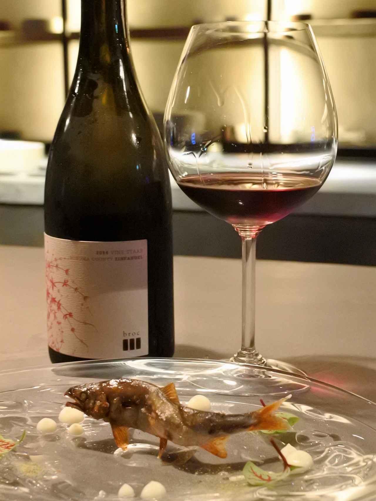 画像: ワインは Broc Cellars Zinfandel Vine Starr Sonoma County 2014