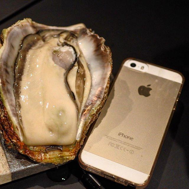 画像: #やばいよやばいよ〜 #生牡蠣 がiPhone6と同じ大きさだよ〜w 先日麻布十番にオープンした、海鮮しゃぶしゃぶのお店にて、徳島産 #岩牡蠣 にであう! 話題のブラックスープきのこしゃぶしゃぶの店 #シャングリラズシークレット の姉妹店です。 # ... www.instagram.com