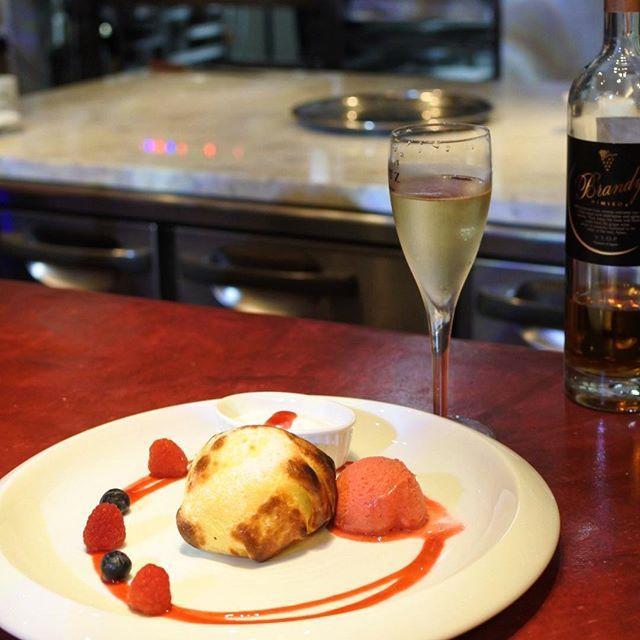 画像: 食べログ 福岡×フレンチ カテゴリーで最高位をつける #ジョルジュマルソー の パティスリー #ジョルジュマルソーパティスリー は、夜9時からスイーツとワインの #九州bar へと変貌する。 #アシェットデセール は、凍らせたクレープをオーブンで焼 ... www.instagram.com